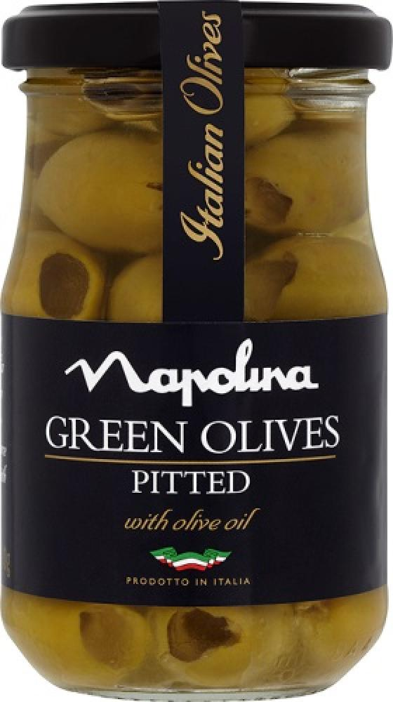 Napolina Green Olives 190g