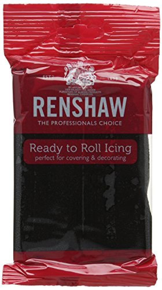 Renshaw Black Ready To Roll Icing 250g