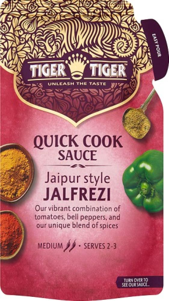 FURTHER REDUCTION  Tiger Tiger Quick Cook Sauce Jaipur Style Jalfrezi 370g