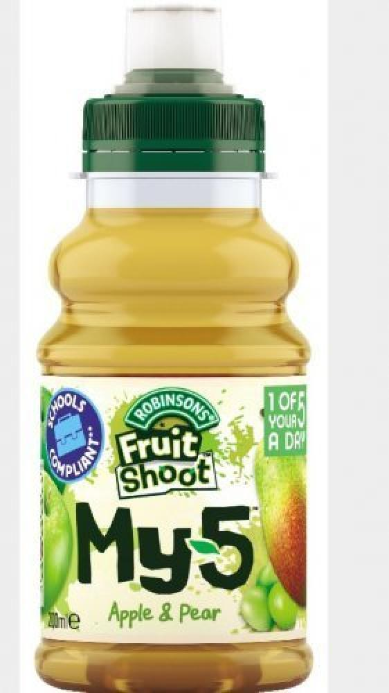 Robinsons Fruit Shoot My 5 Apple And Pear 200ml