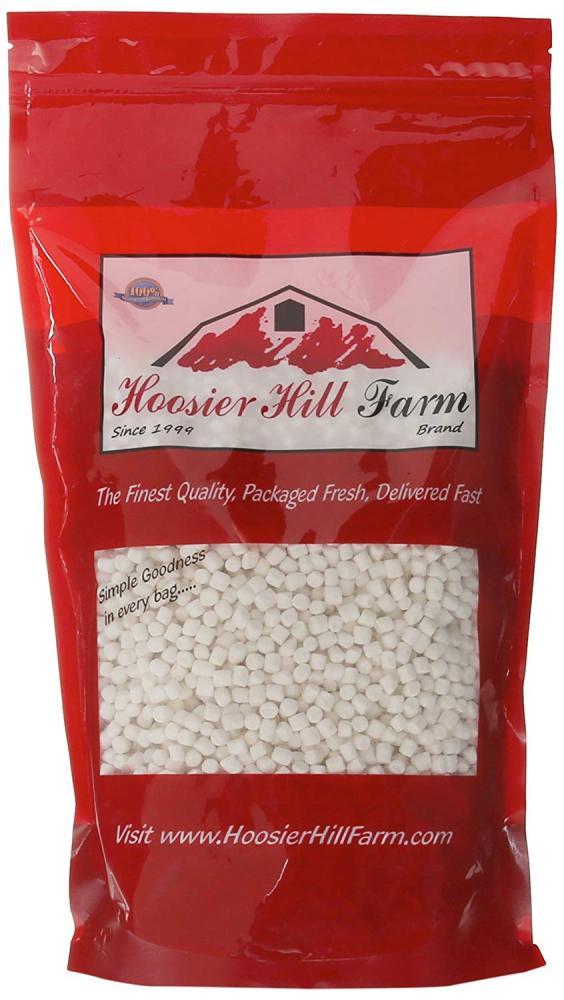 Hoosier Hill Farm Mini White Marshmallows 454g