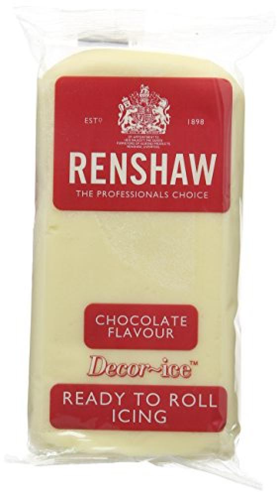 Renshaw White Chocolate Ready to Roll Fondant Icing 250g