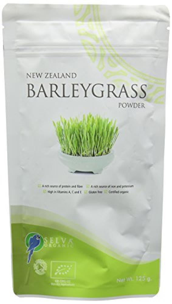 Selva Organic Barley Grass Powder 125 g