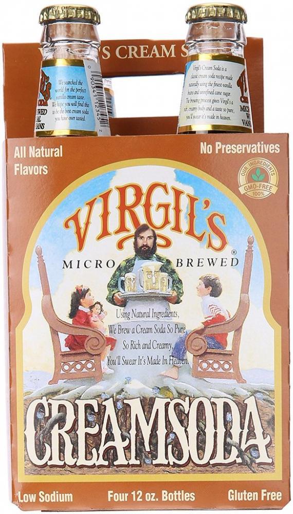 Virgils Cream Soda 355ml x 4