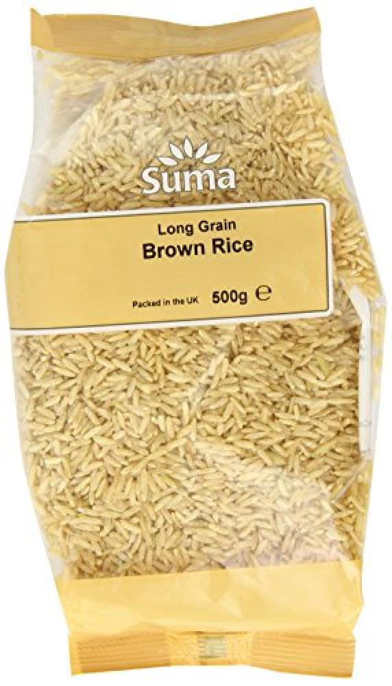 Suma Long Grain Brown Rice 500 g