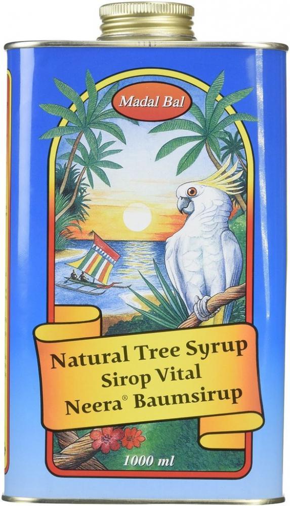Madal Bal 1000 ml Natural Tree Syrup Tin