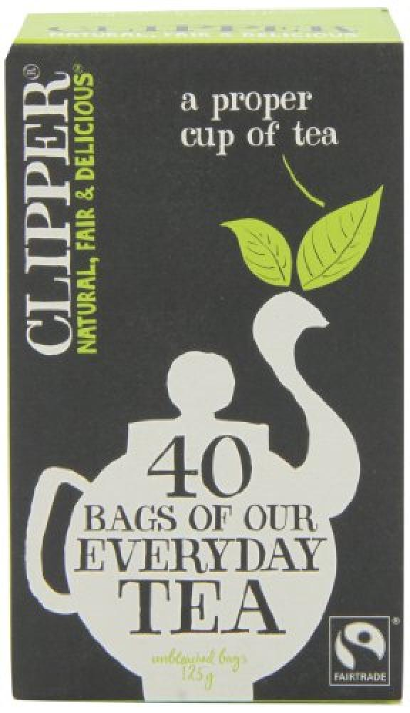 Clipper Fairtrade Everyday 40 Teabags