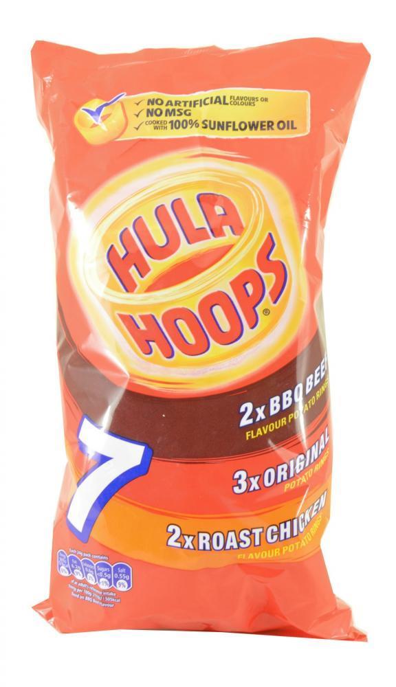 Hula Hoops Meaty Variety 24g x 7 24g x 7