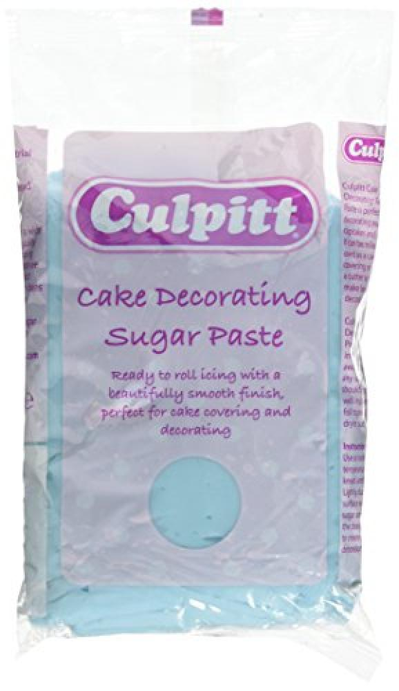Culpitt Light Blue Cake Decorating Edible Sugar Paste 1 kg