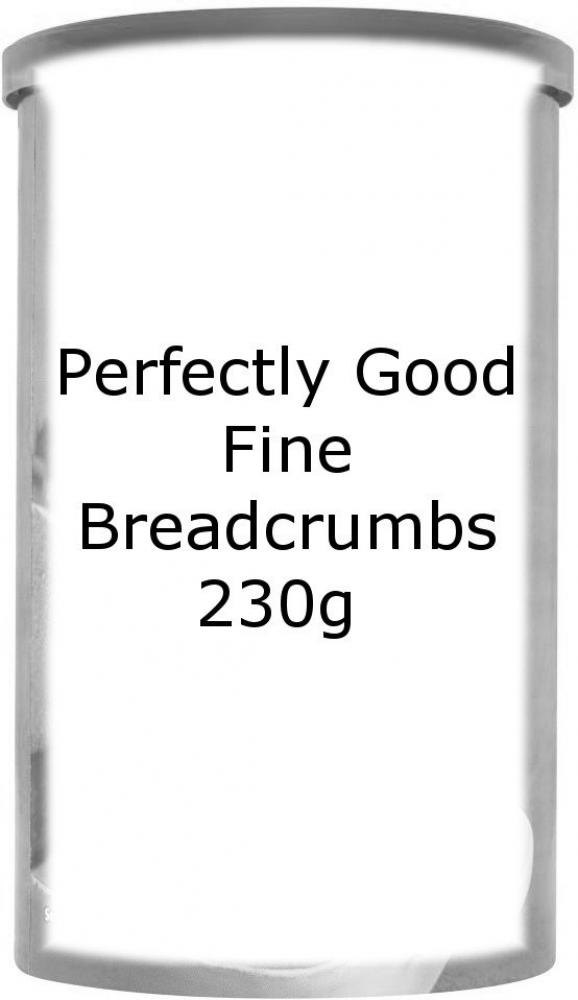 Perfectly Good Fine Breadcrumbs 230g 230g