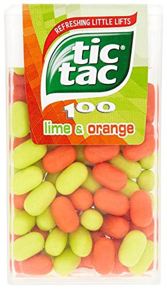 Tic Tac Lime and Orange Flavoured Drops 49g