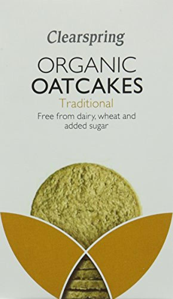 Clearspring Organic Traditional Oatcakes 200g