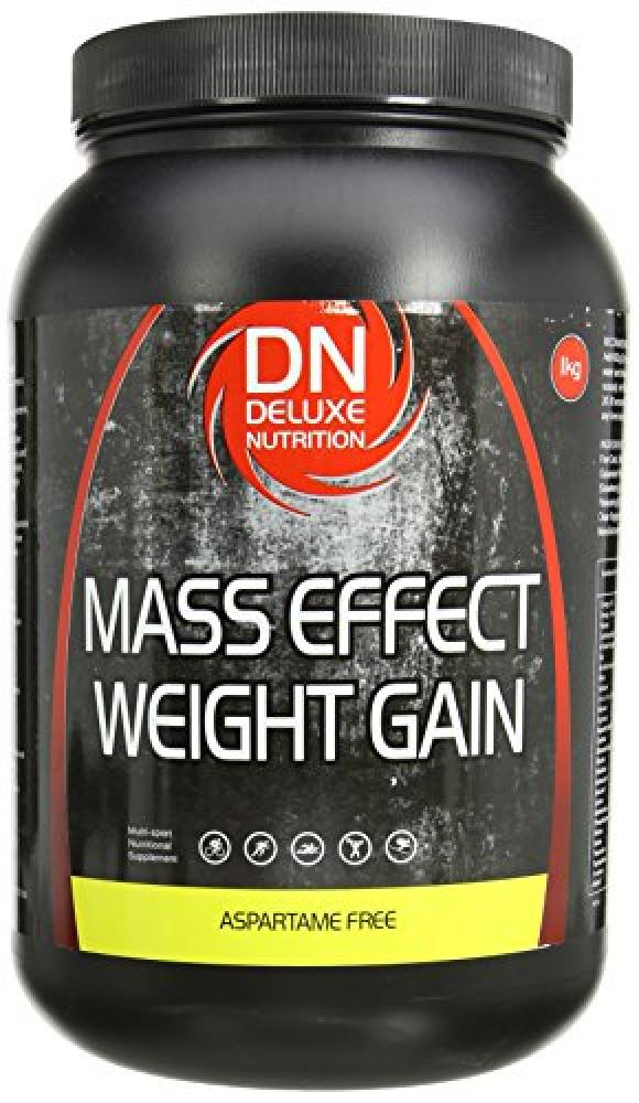 Deluxe Nutrition Mass Effect Weight Gain Aspartame Free Chocolate 1kg