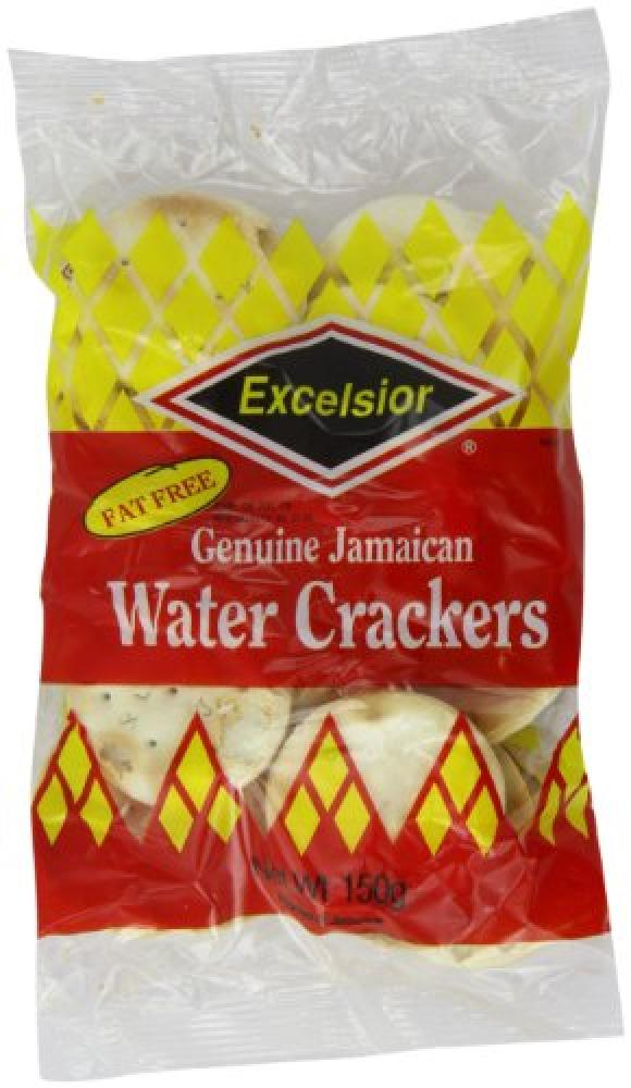 Excelsior Jamaican Water Crackers 150 g