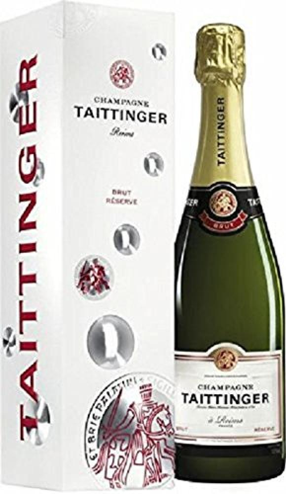 Taittinger Brut Reserve Non Vintage Gift Box 75 cl Damaged Box