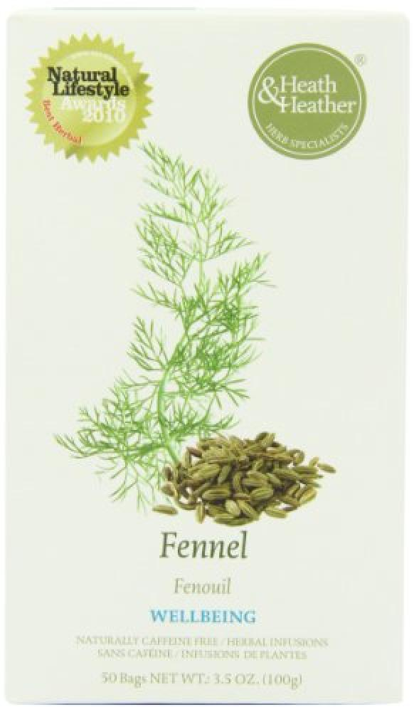 Heath and Heather Fennel Herbal Infusion 50 Teabags