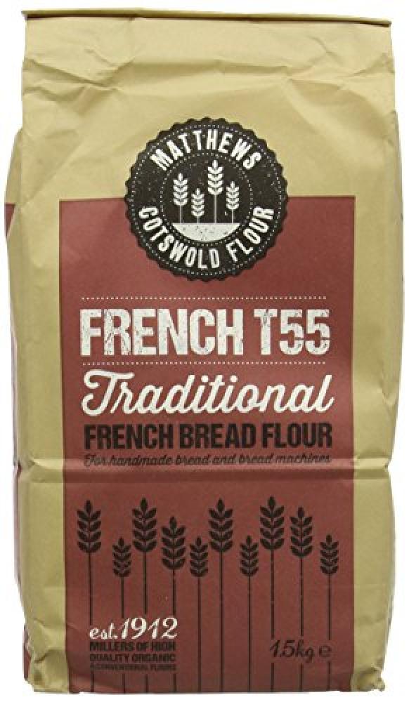 Matthews Cotwold Flour French T55 1.5Kg