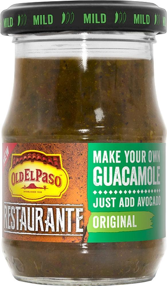Old El Paso Restaurante Guacamole 145g 145g