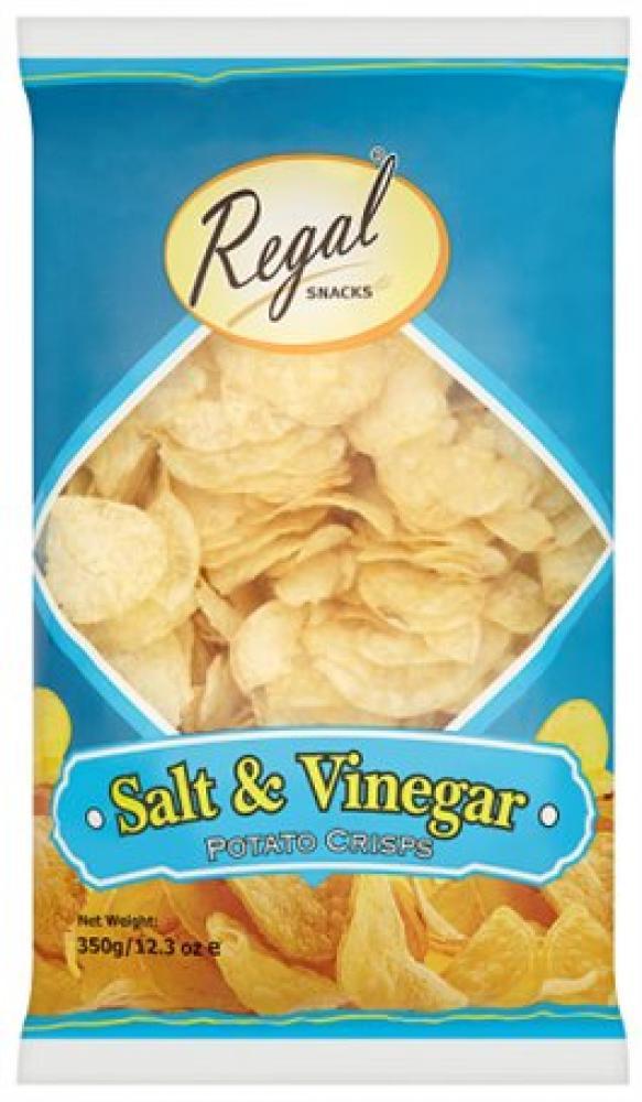 Regal Salt and Vinegar Crisps 350g