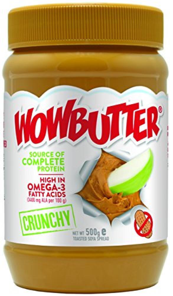 Wowbutter 100 Percent Nut Free Peanut Butter Crunchy 500 g