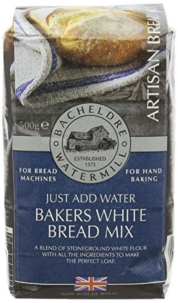 Bacheldre Watermill Bakers White Bread Mix 500 g