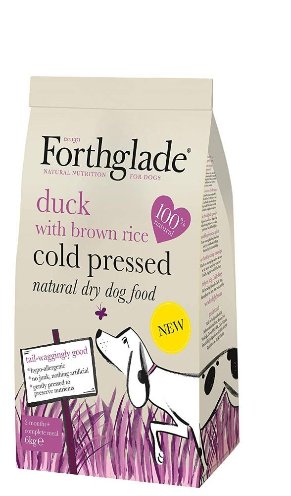 Forthglade Dry Dog Food Duck with Brown Rice 6kg