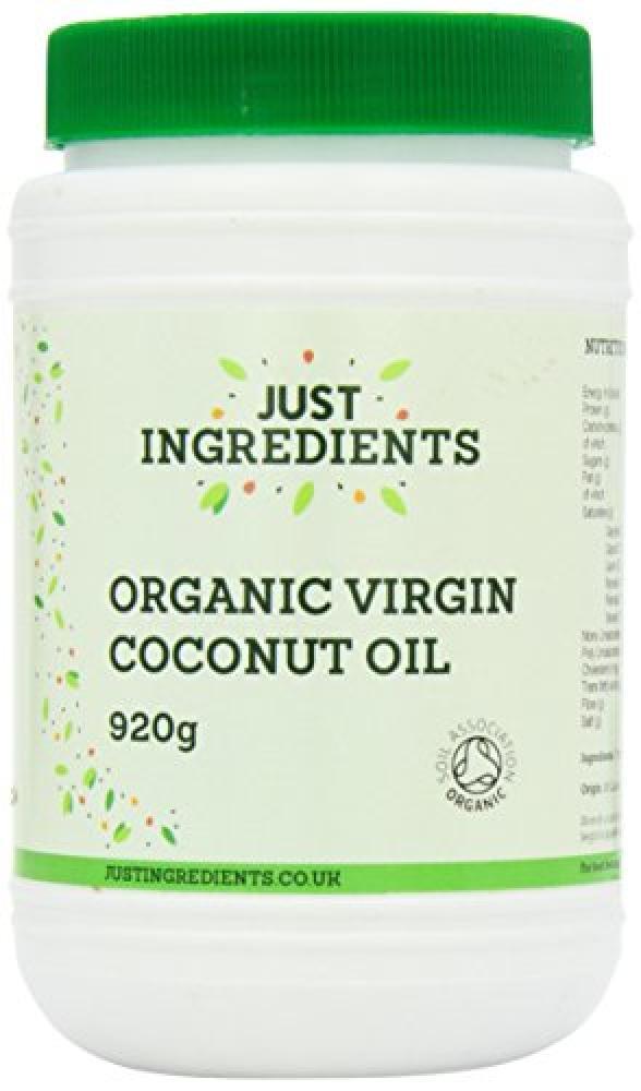 JustIngredients Essential Organic Virgin Coconut Oil 920 g
