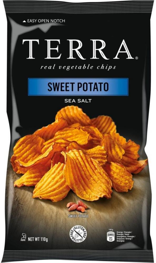 Terra Vegetable Crisps Sweet Potato Crinkle 110g