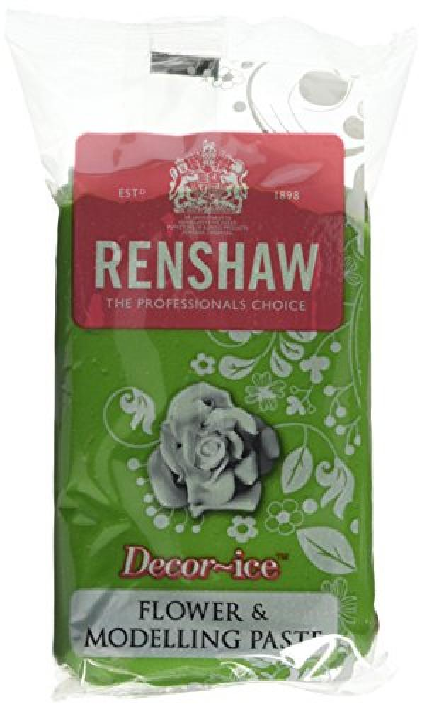 Renshaw Edible Grass Green Flower and Modelling Paste 250g