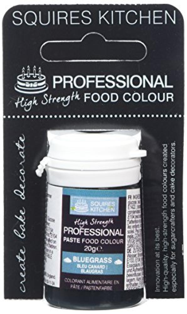 Squires Kitchen Bluegrass Food Colour Paste 20g