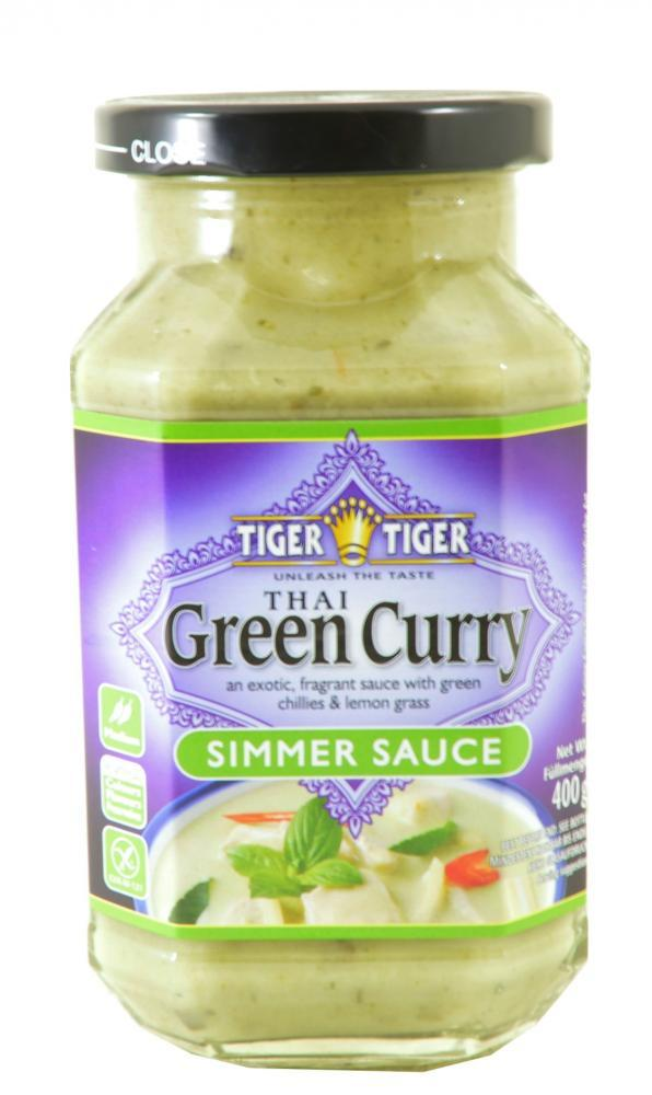 FURTHER REDUCTION  Tiger Tiger Thai Green Curry Simmer Sauce 400g