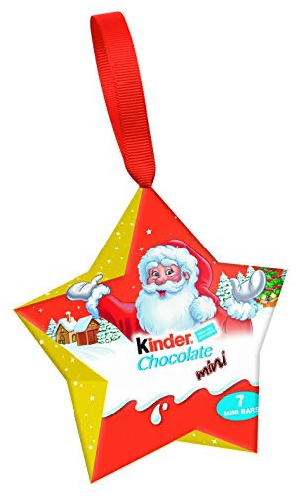 Kinder Chocolate Mini Hangable Star 42 g