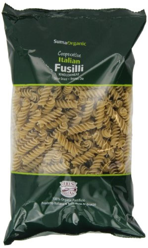 Suma Organic Wholewheat Fusilli 500 g