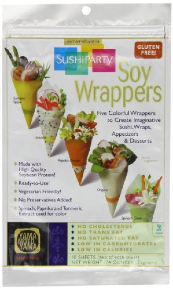 Yamamotoyama Soy Wrappers 10 Sheets