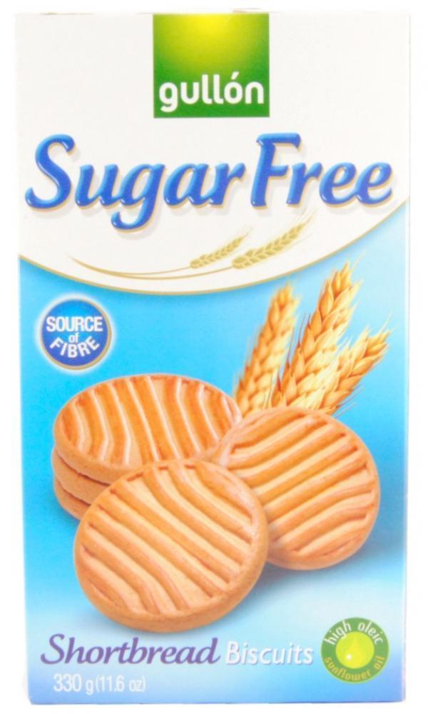 Gullon Sugar Free Shortbread Biscuits 330g