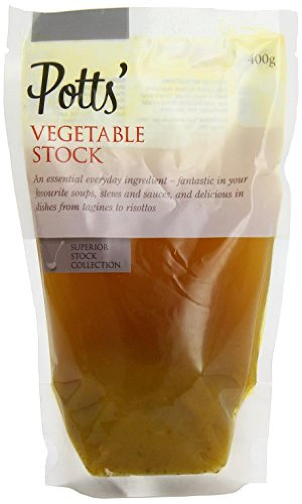 Potts Vegetable Stock 400 g