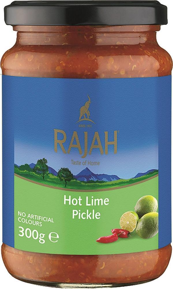 Rajah Hot Lime Pickle 300g