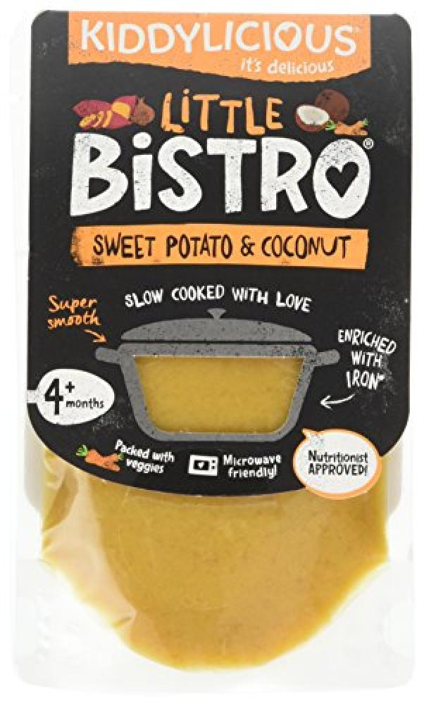 Kiddylicious Little Bistro Sweet Potato and Coconut Stage 1 100g