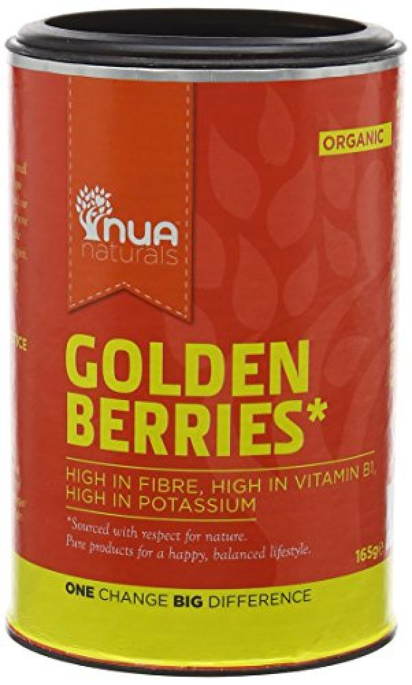 Nua Naturals Golden Berries Organic 165g