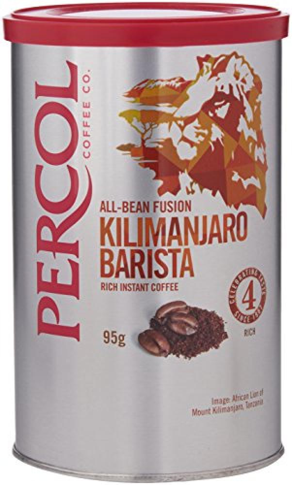Percol Kilimanjaro Barista Wholebean Instant Coffee Tin 95 g