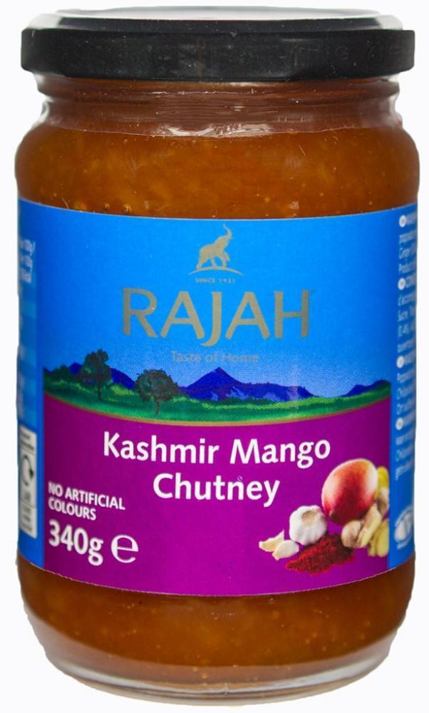 CLEARANCE  Rajah Kashmir Mango Chutney 340g