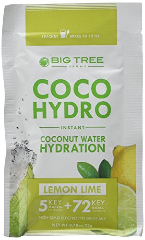 Big Tree Farms Coco Hydro Lemon Lime 22 g