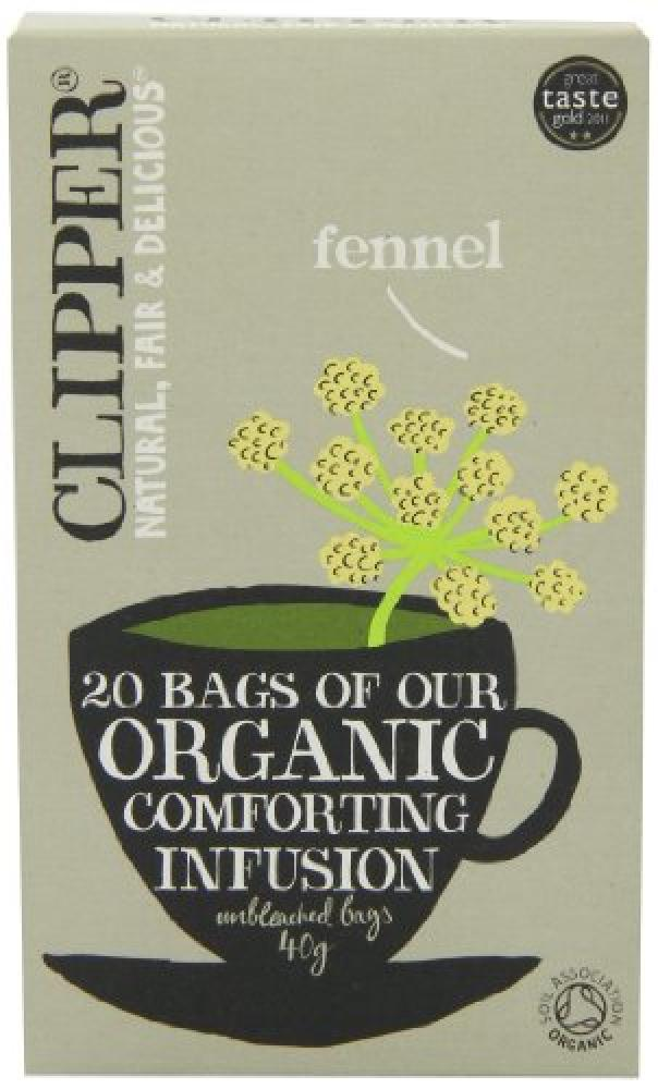 Clipper Organic Fennel Infusion 20 Teabags