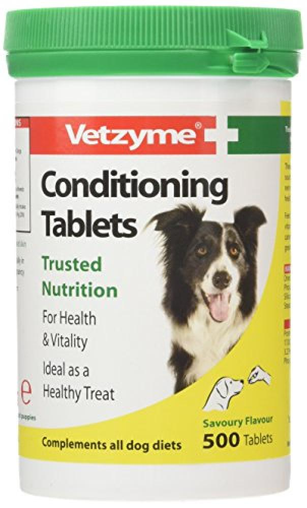 Vetzyme Conditioning Tablets 500 Tablets
