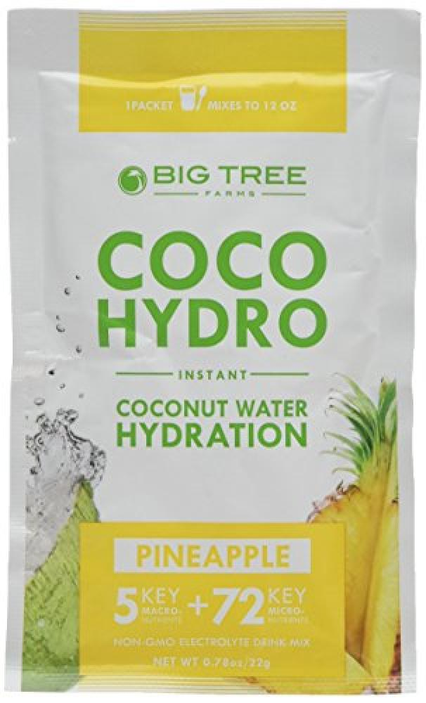 Big Tree Farms Coco Hydro Pineapple 22 g (Pack of 15)