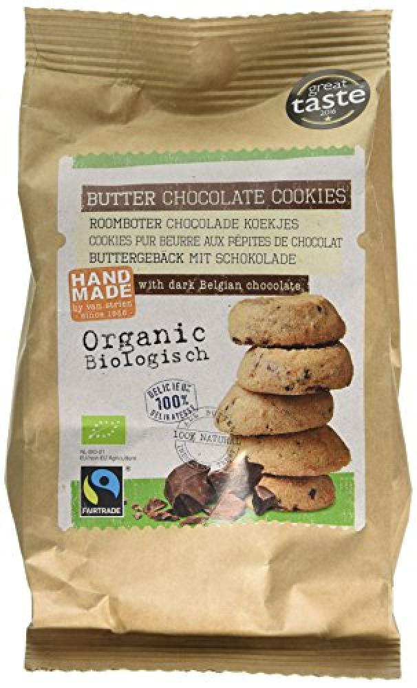 Van Strien Organic Chocolate Chip Cookies 140g
