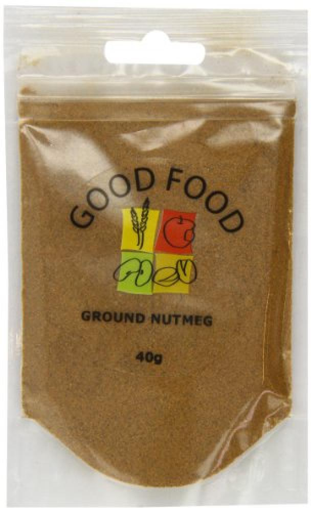 Mintons Good Food Pre-Packed Nutmeg Ground 40 g