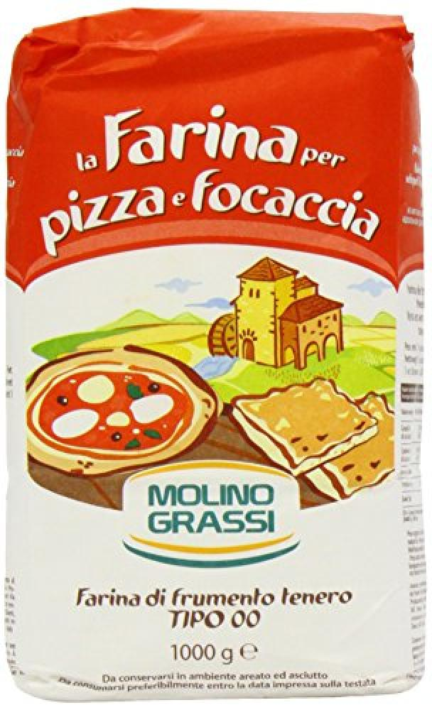 Molino Grassi Italian Flour for Pizzas and Focaccia 1 kg