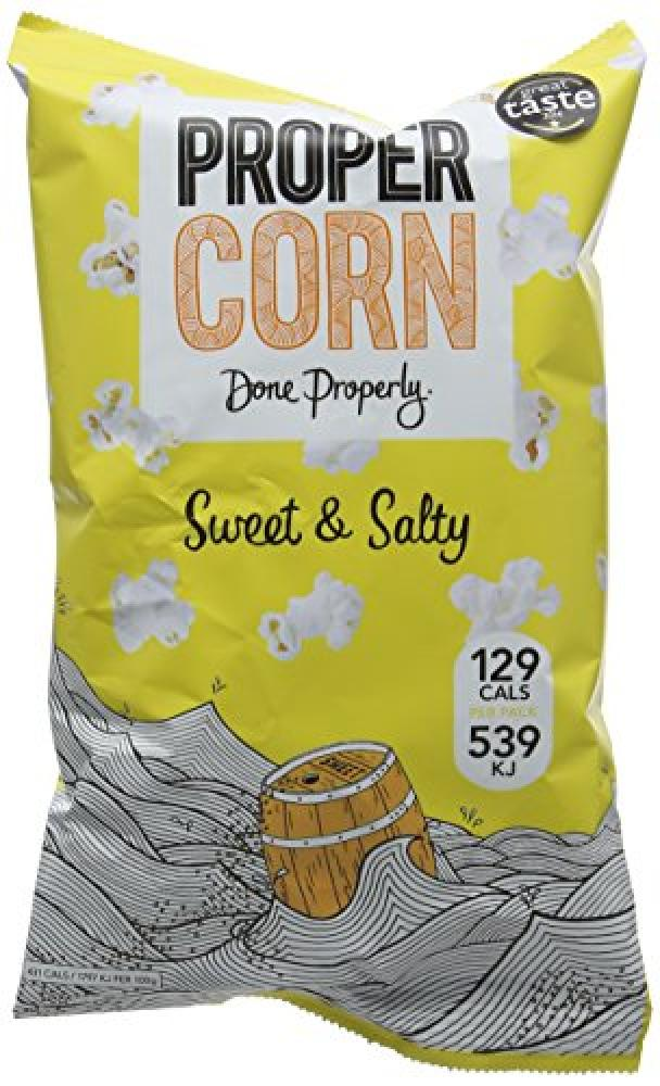 Propercorn Sweet and Salty Popcorn 30 g