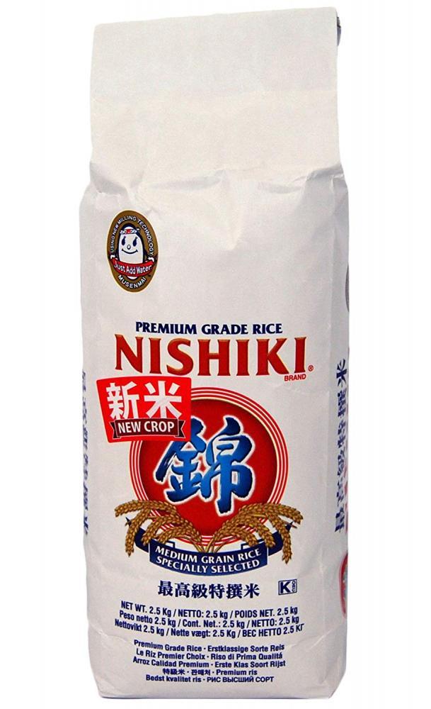 NISHIKI Rice 2.5Kg